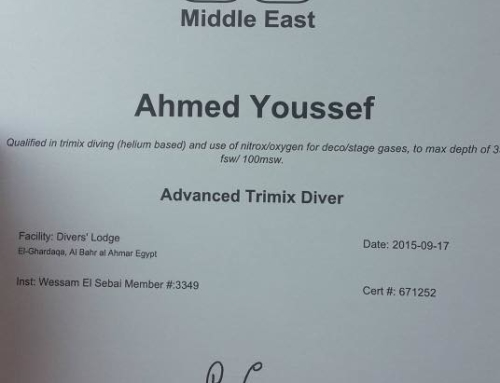 Successful TDI Advanced Trimix Diver Course in Hurghada